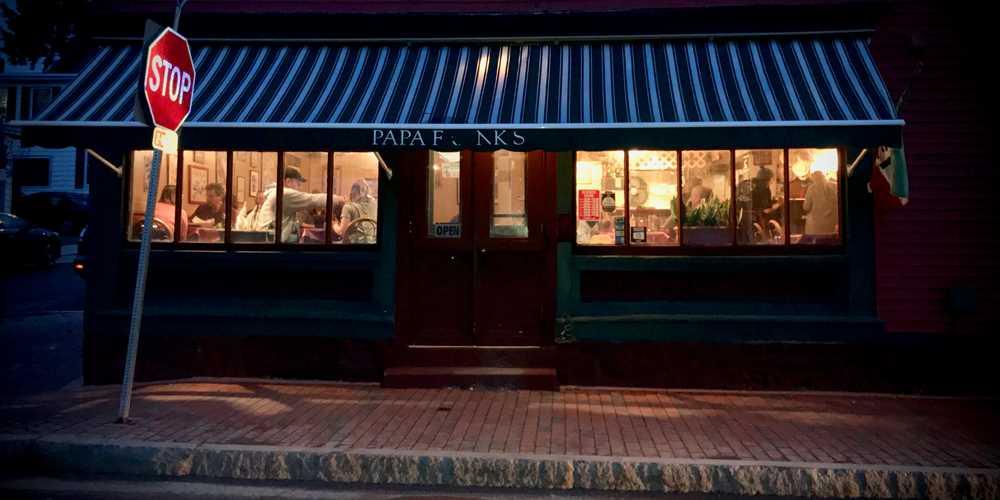 Winooski Vermont Restaurant Home Papa Franks Italian